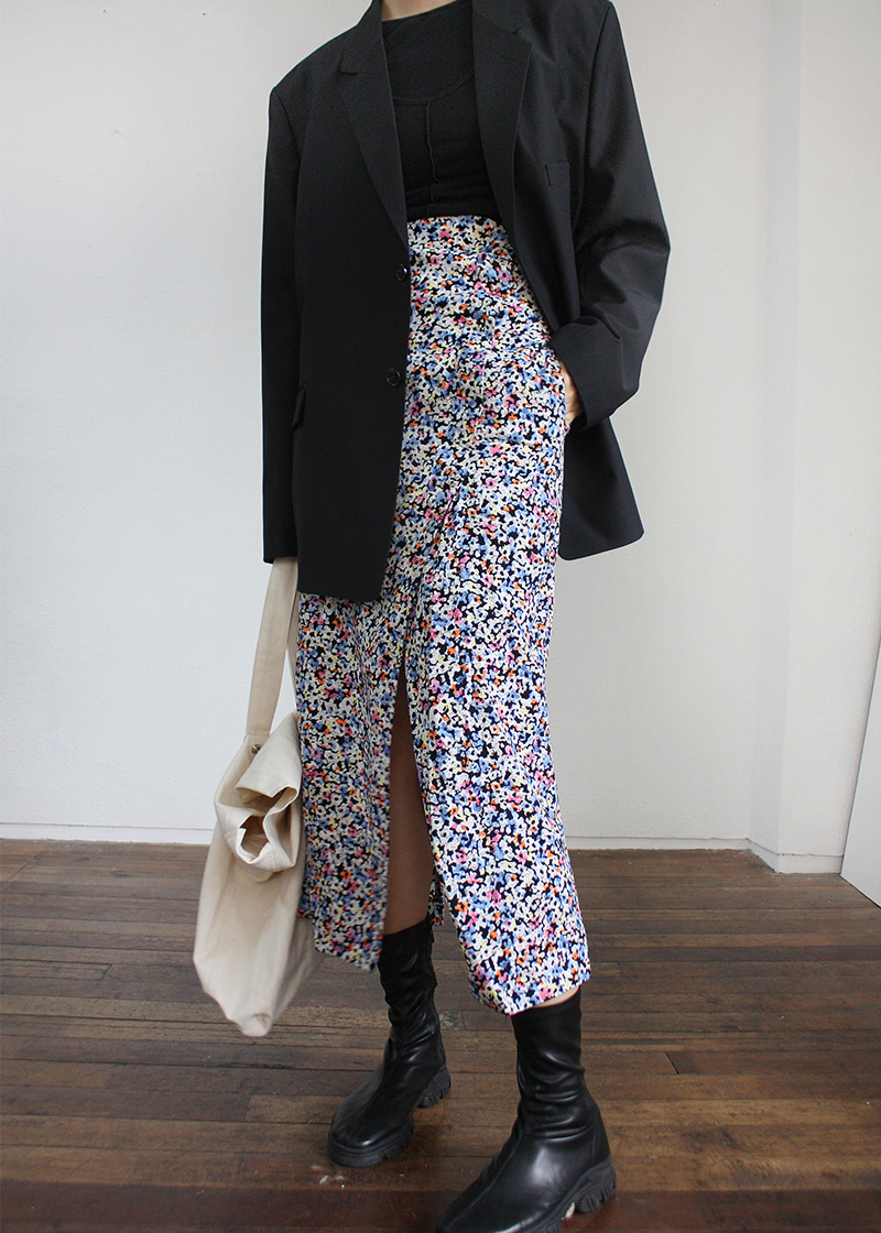 [sale] flower unbal slit SK