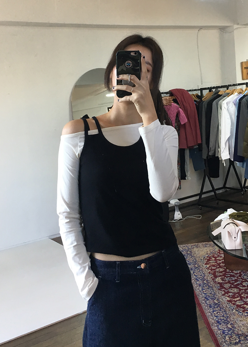 [sale] one shoulder T (4c)