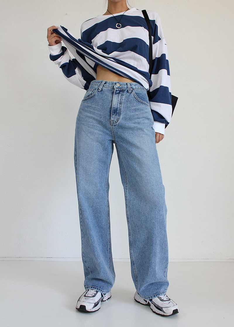 standard straight jeans