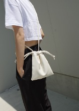 [sample sale] mini string bag (3c)
