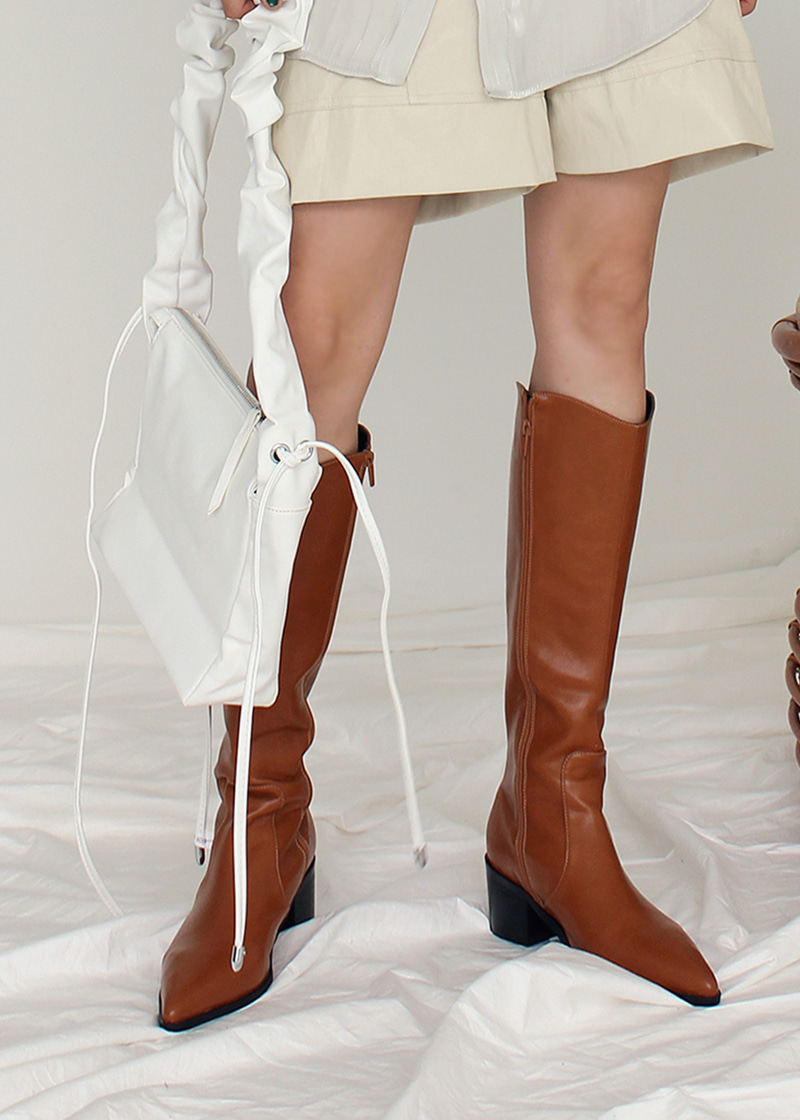 pointed toe knee high boots (25-50)