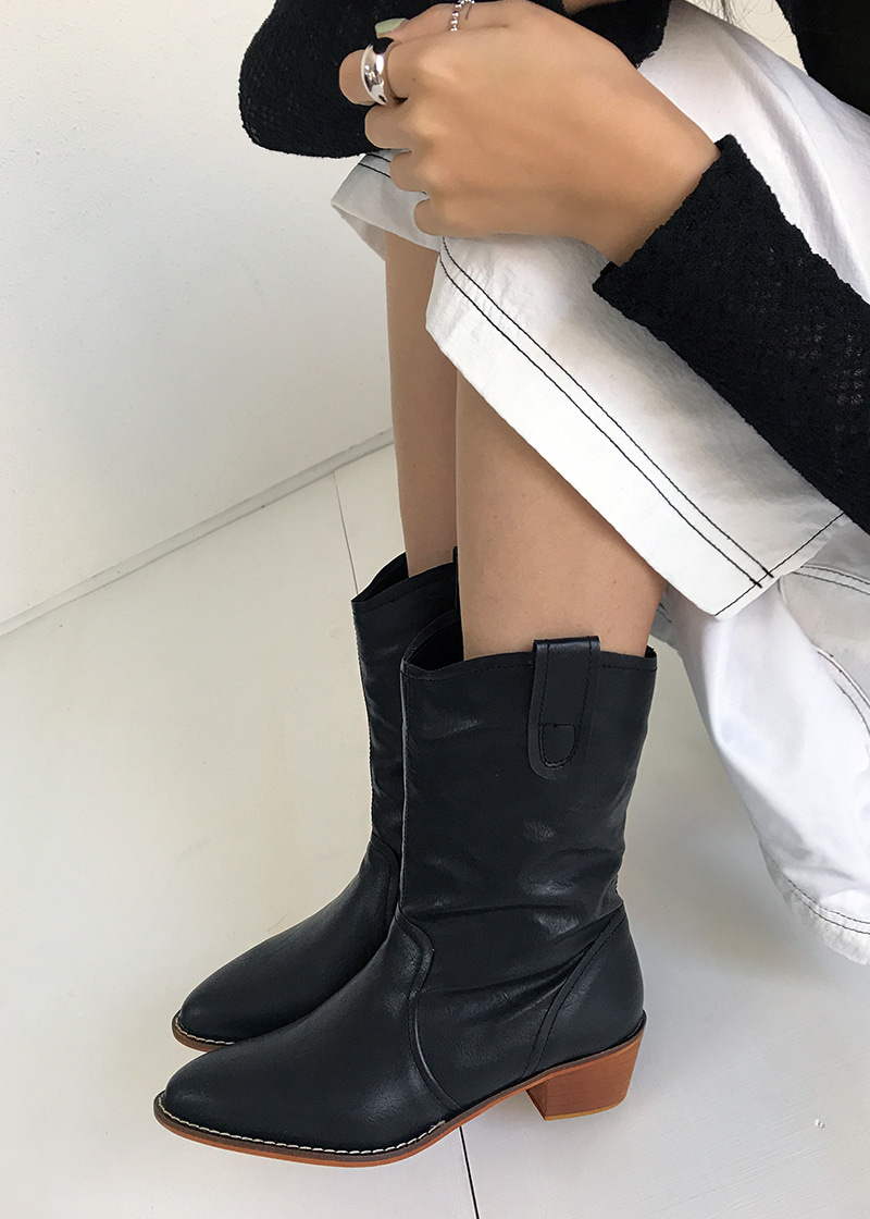 western middle boots (3c)