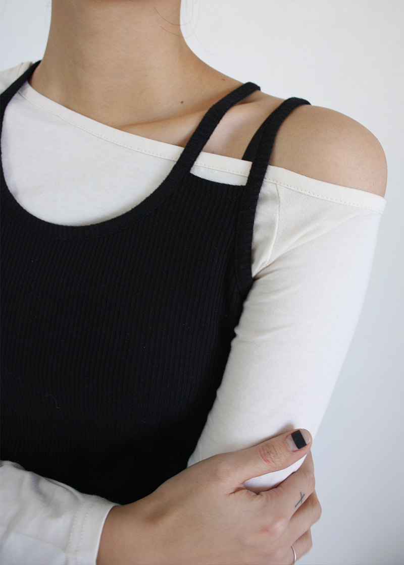two line sleeveless (3c)