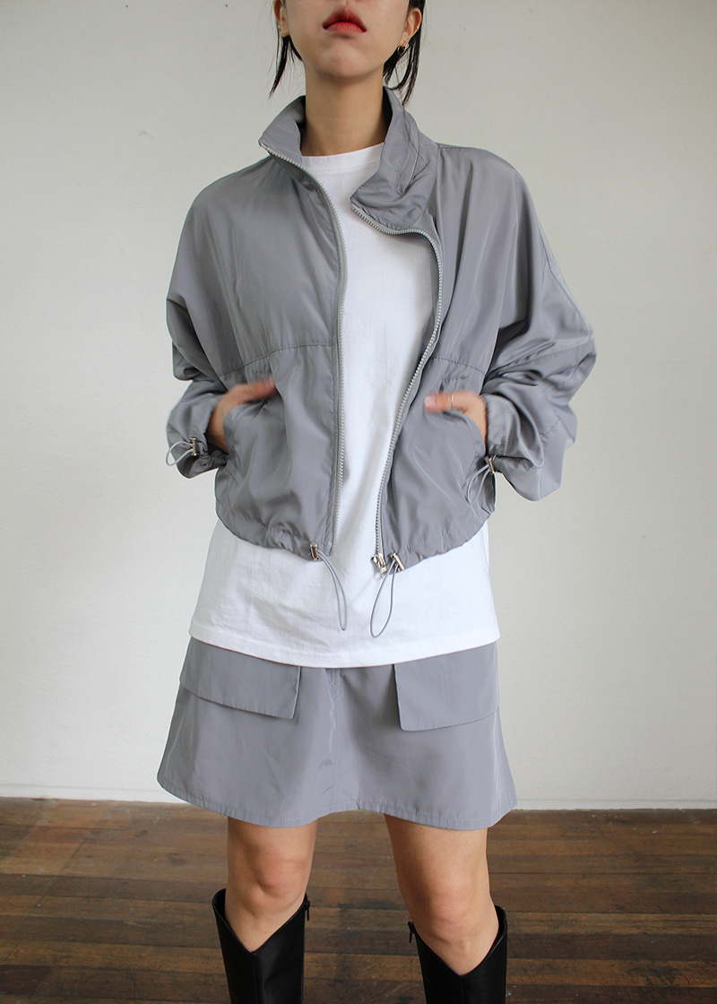 cover zip up jumper (2c)