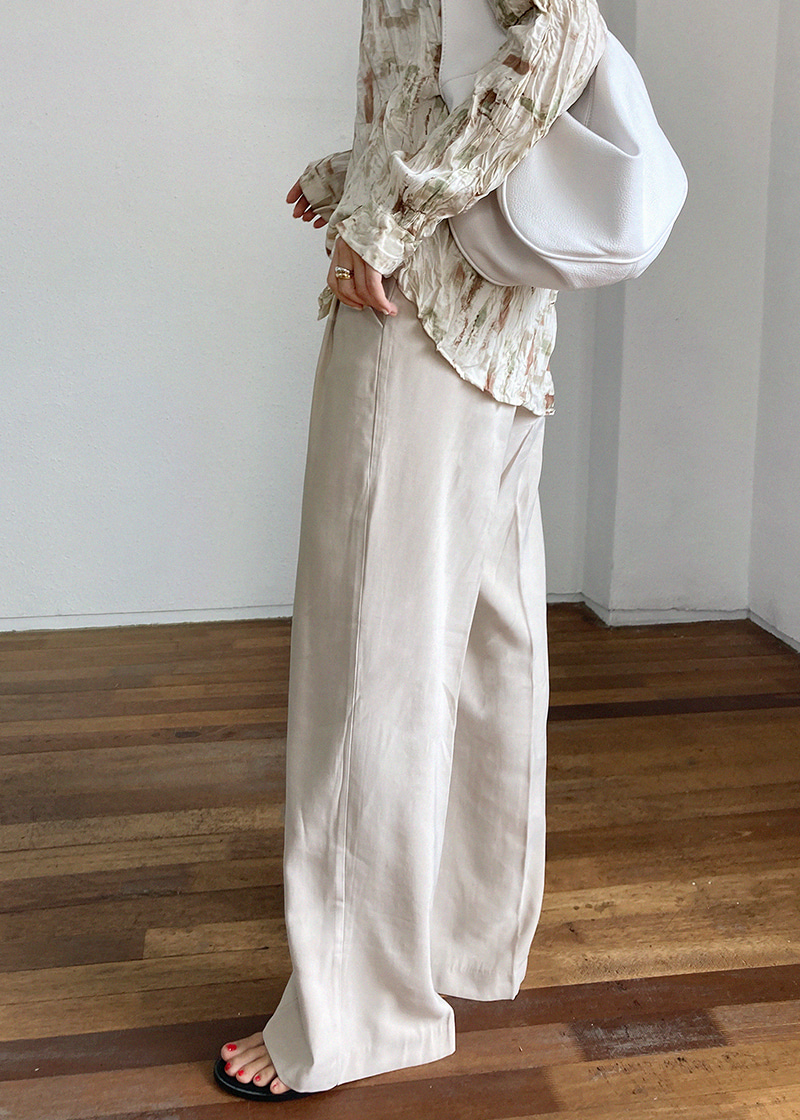 glam wide pants (3c)