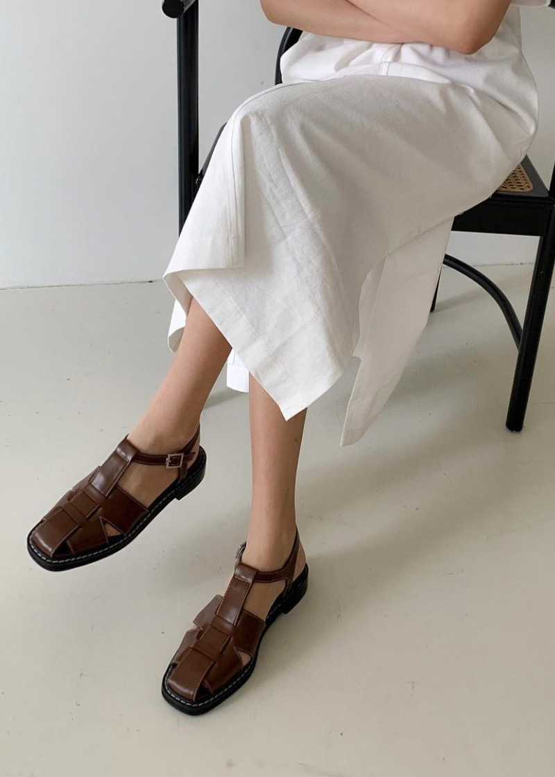 round buckle sandal (30-50)