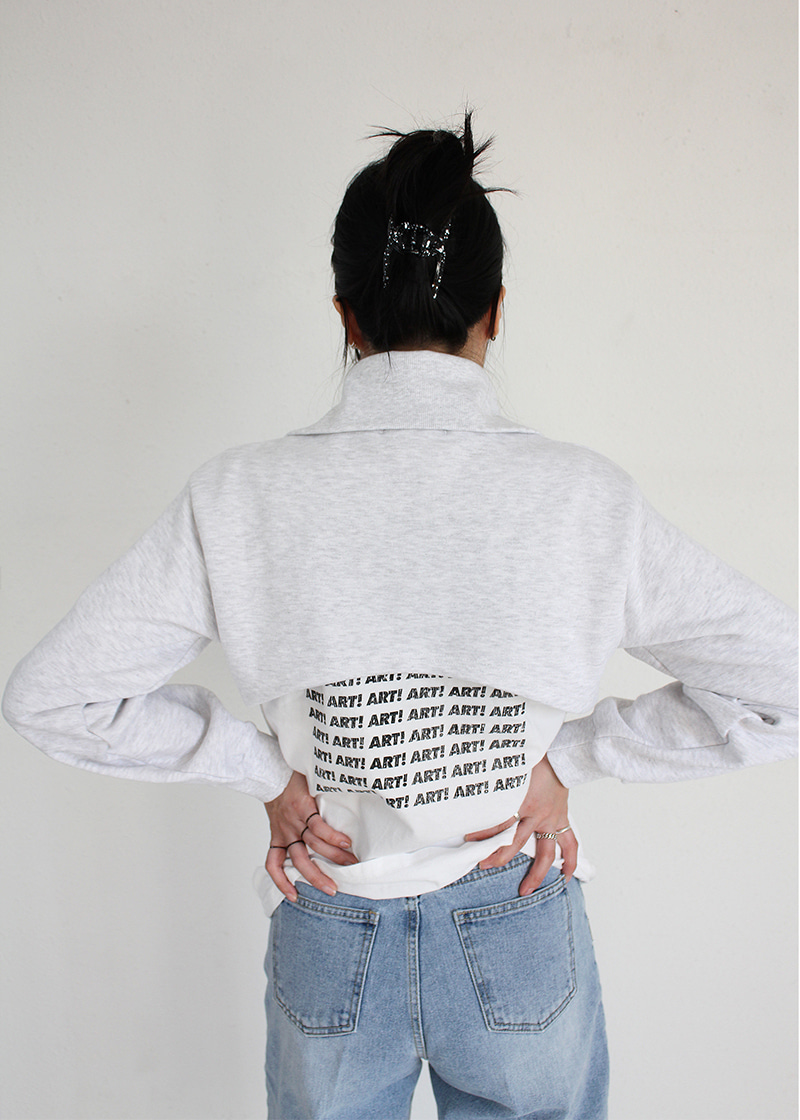 zip up crop mtm (3c)