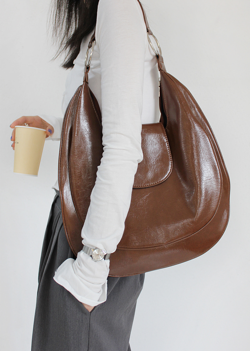 round ring shoulder bag (2c)