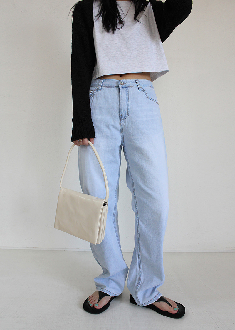 wide ice denim pants (s/m)